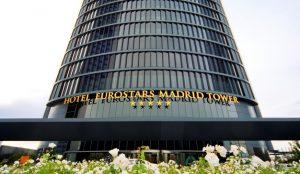 El Eurostars Madrid Tower 5* vuelve a iluminar el cielo de Madrid