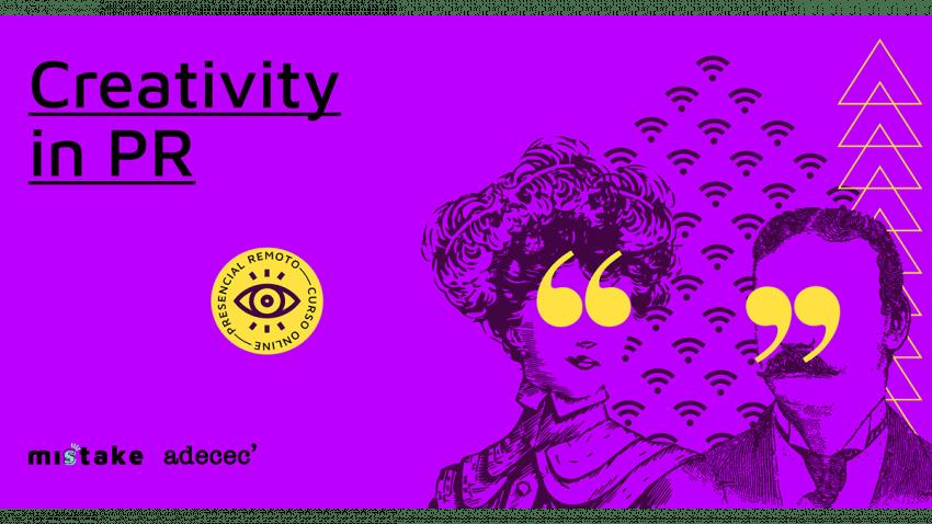 ADECEC y Misstake Creativity School presentan la V edición de Creativity in PR