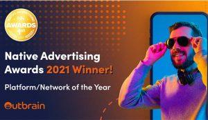 Outbrain gana el premio a la plataforma de Publicidad Nativa del año