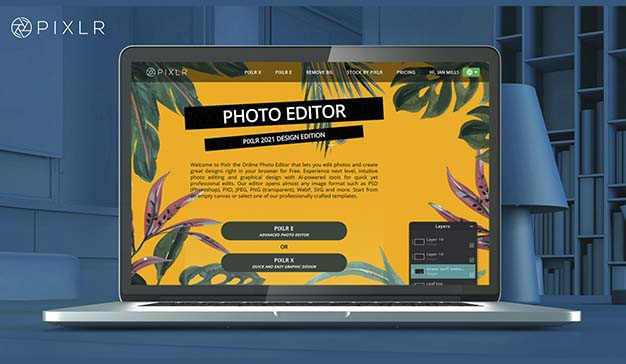 Plataforma de edición de fotografía Pixlr