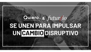 Quiero se alía con Futur/io para impulsar la innovación disruptiva y los Moonshots en España