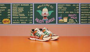 adidas se merienda a los fans de los Simpson con unas zapatillas inspiradas en Krusty Burger