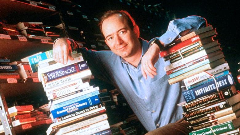 Jeff Bezos en 1994