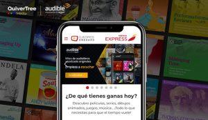 Audible se asocia con QuiverTree Media para estar presente en los vuelos internacionales