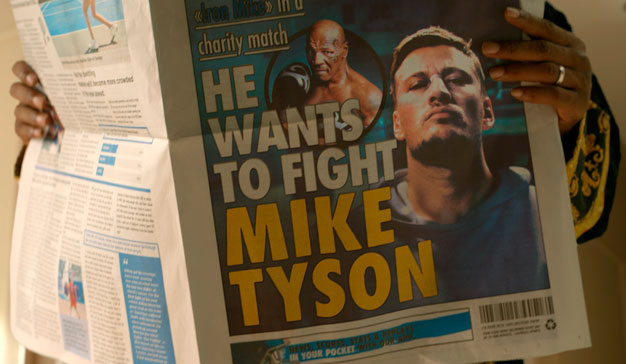Boursorama Banque spot Mike Tyson