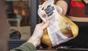 Burger King regalará un kilo de patatas a todos los que se acerquen a su drive-thru