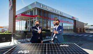 Burger King podrá cocinar 39 millones de hamburguesas con energía solar, gracias a un acuerdo con EDP