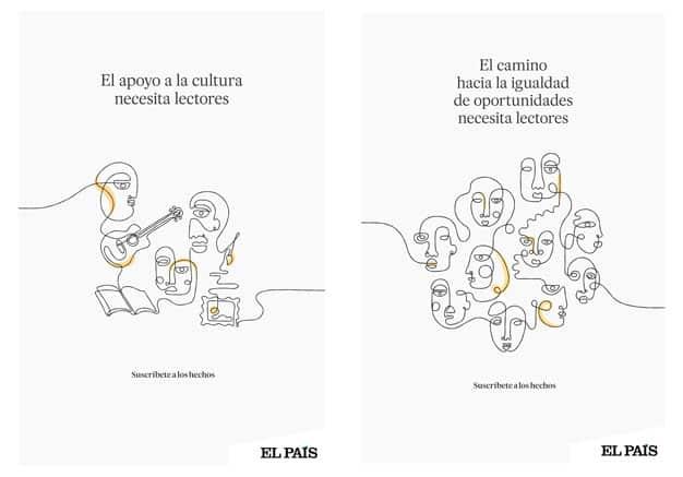 Campaña suscripciones Shackleton El País
