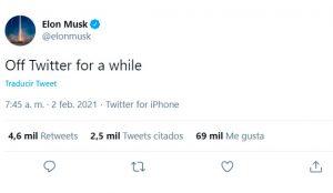 Elon Musk dice adiós a Twitter