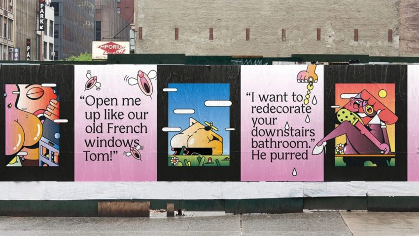 Las hipotecas derrochan erotismo en esta orgásmica campaña