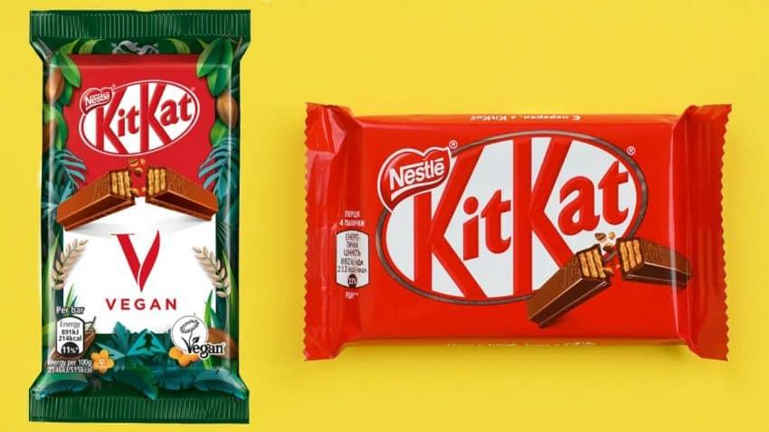 Nestlé pega un mordisco al veganismo con el lanzamiento del nuevo KitKat V