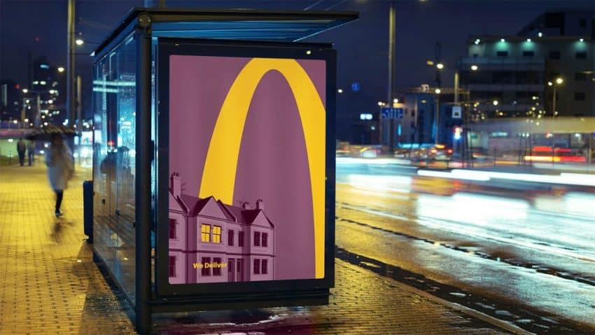 Los arcos amarillos de McDonald's iluminan los hogares en esta apetitosa campaña