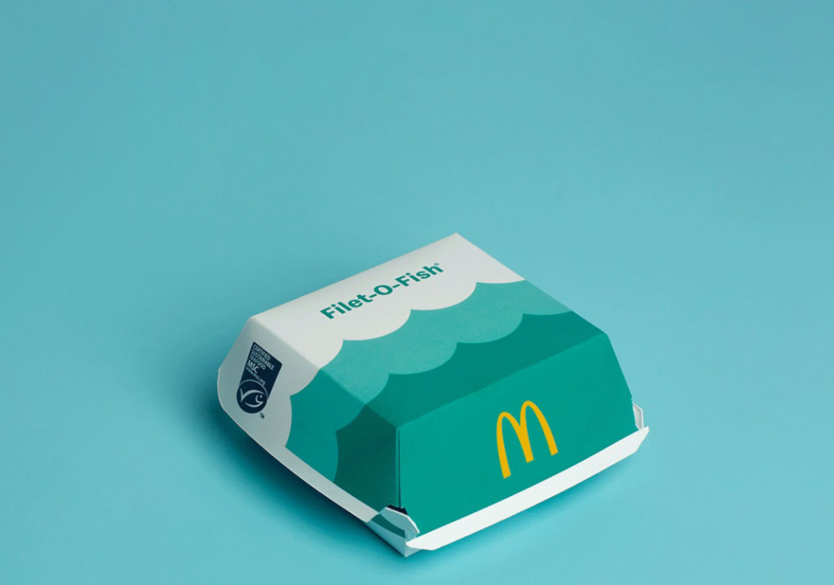 nuevo packaging global McDonald's