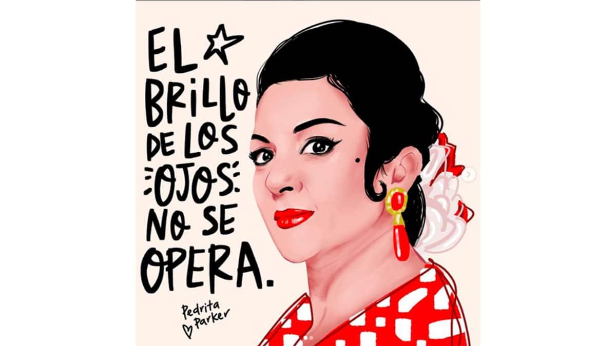 ilustración Lola Flores Pedrita Parker