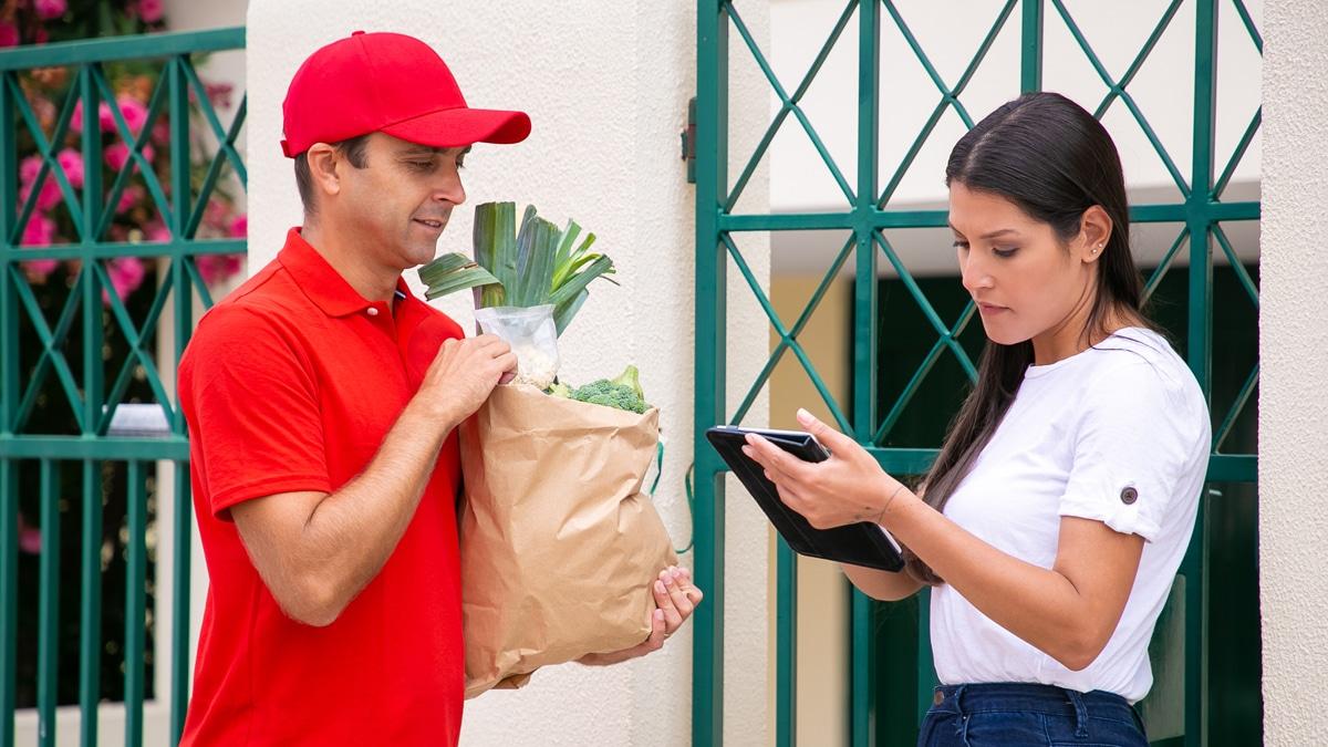 delivery alimentación