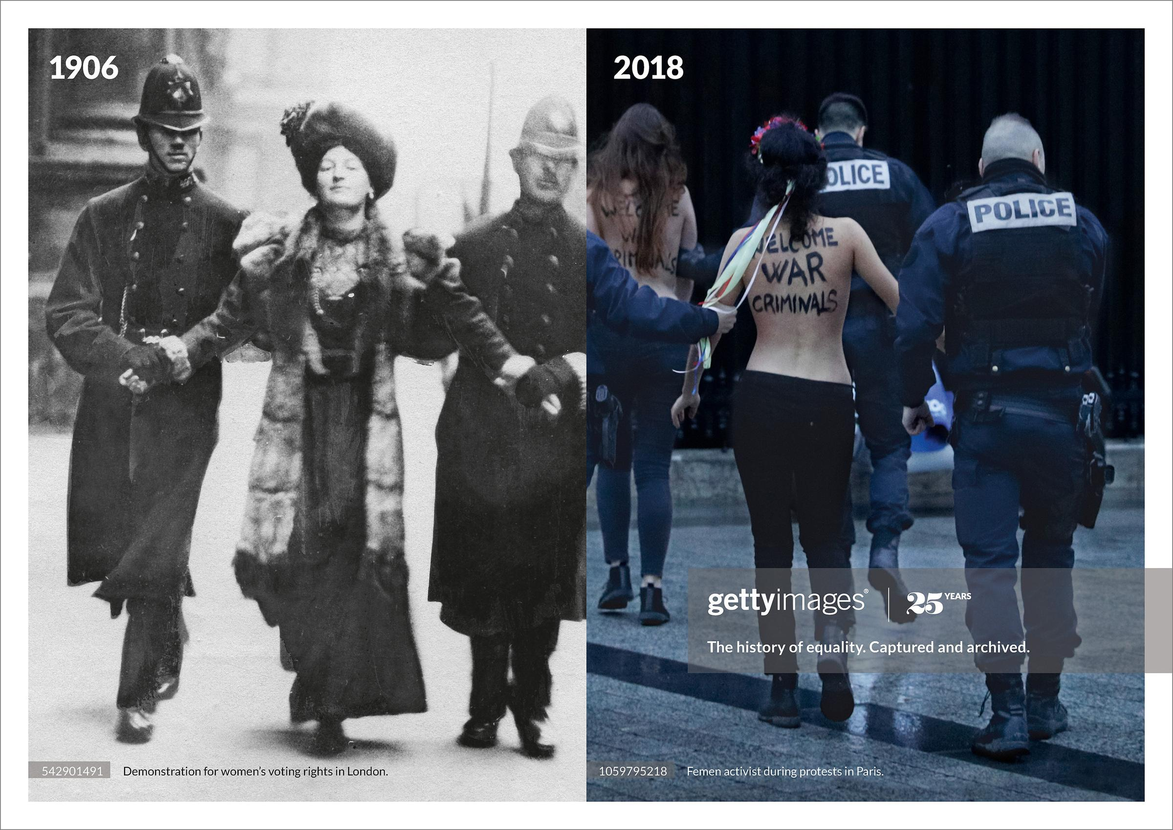 Getty Images History Repeats