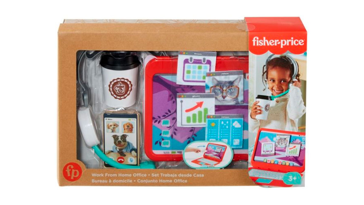 My Home Office juego de Fisher-Price