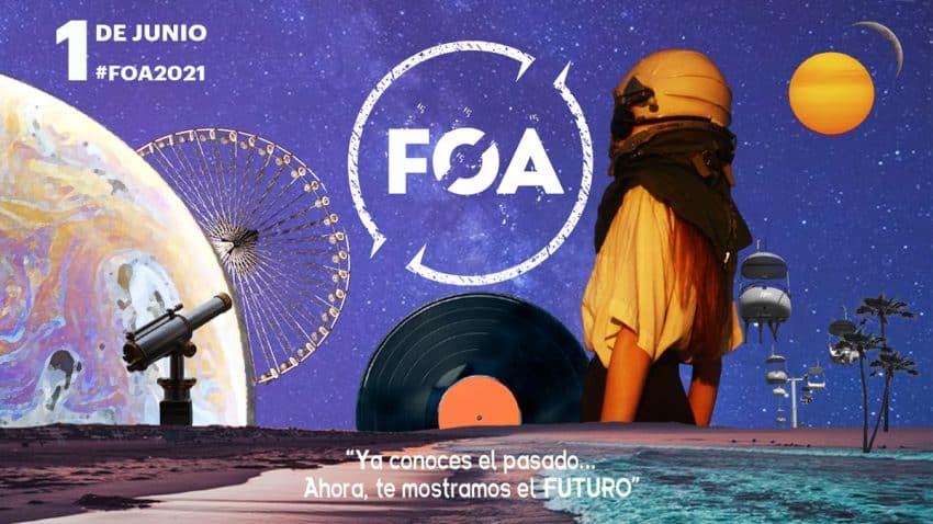 Ya conoces el pasado, ahora te mostramos el futuro. ¡Vuelve #FOA2021!