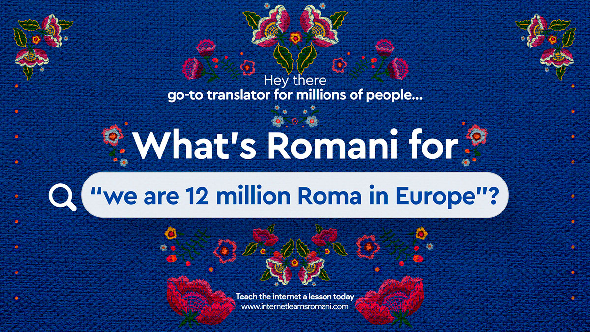 Internet learns Romani cratividad