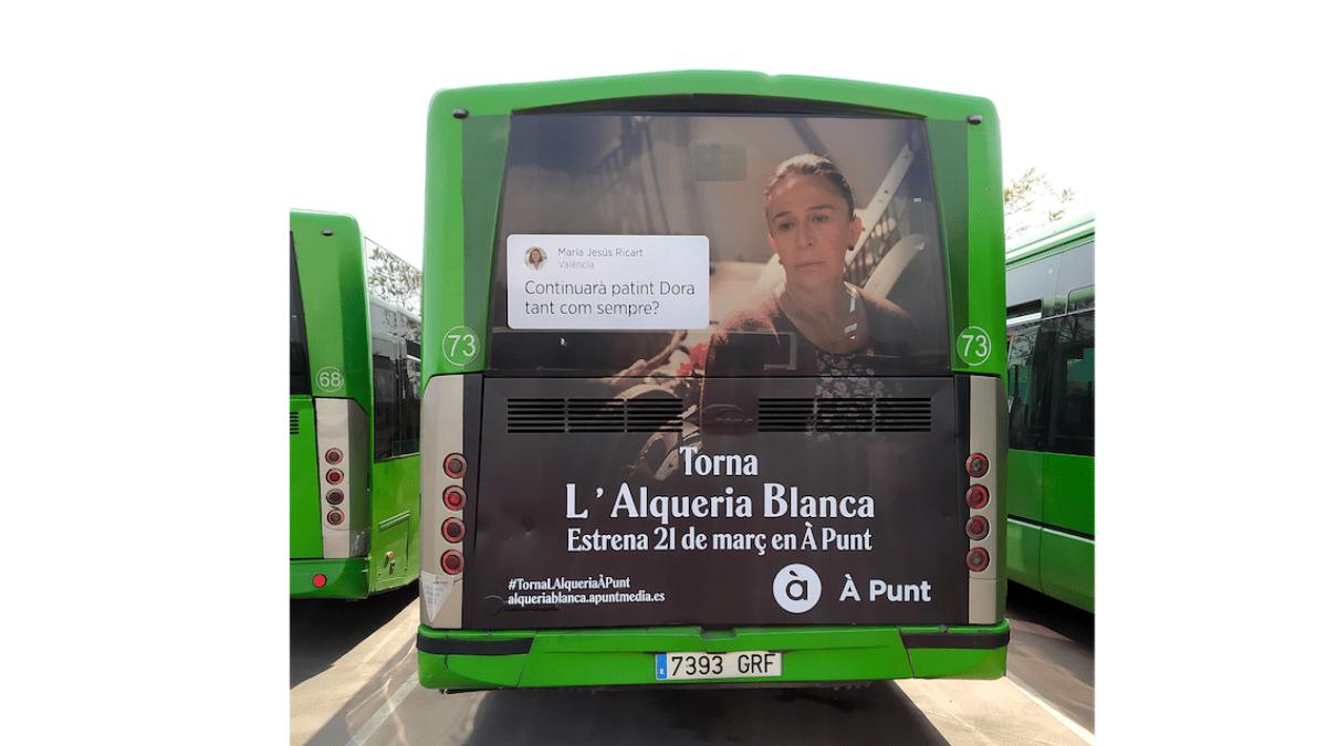 autobus publicidad exterior l'alqueria dates