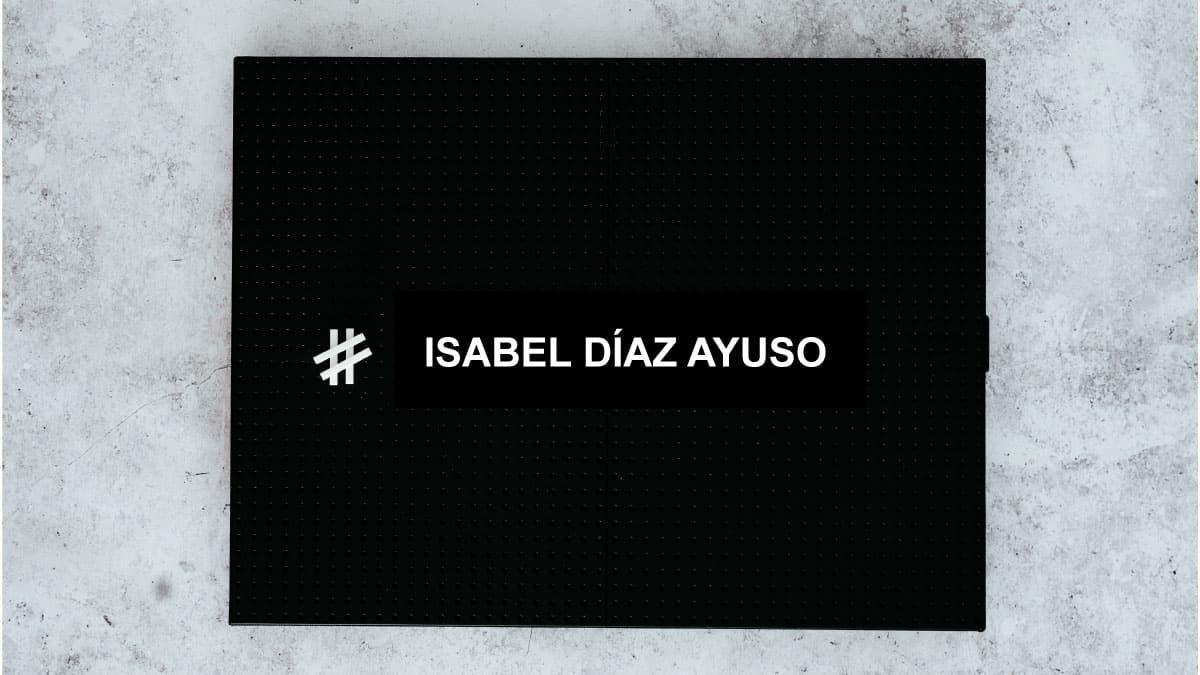 redes sociales Isabel Díaz Ayuso