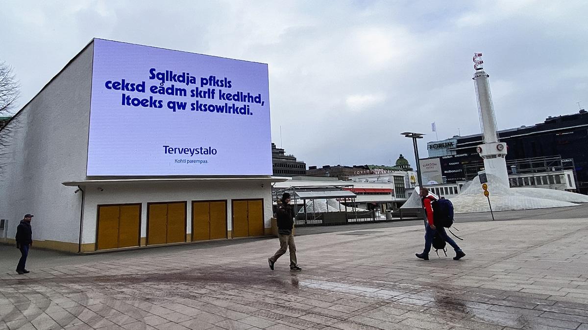 World Vision Finland TBWA/Helsinki analfabetismo