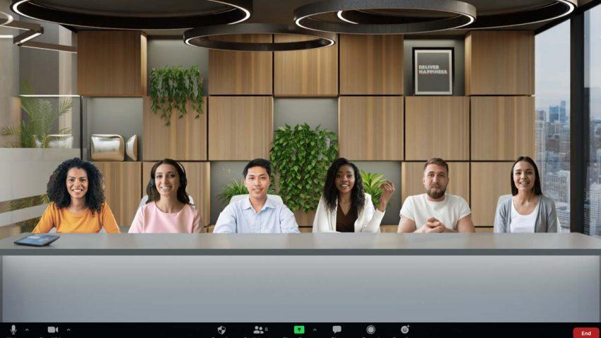 Zoom replica las reuniones en persona al poner a los usuarios en una misma sala