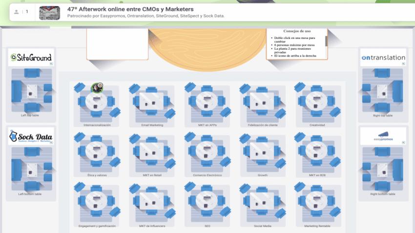 La Latina Valley lanza la convocatoria del 47º Afterwork virtual de debate y networking entre CMOs y Marketers