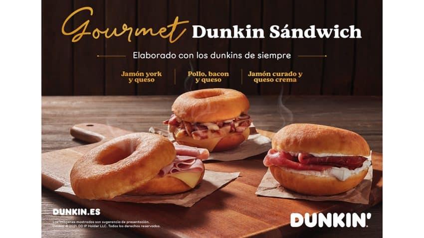 Dunkin' lanza el primer Dunkin' salado,