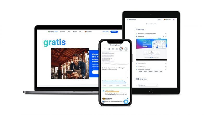 rankingCoach lanza una novedosa aplicación para apoyar a 50.000 PYMES