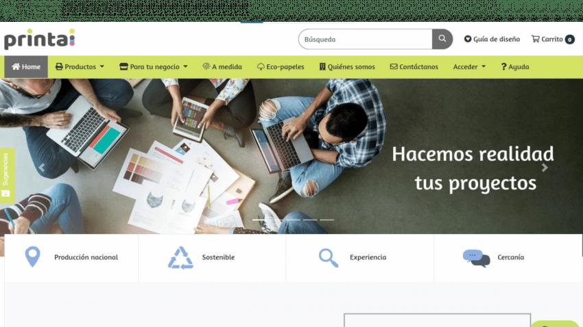 Printai, la nueva startup de impresión online para los profesionales de artes gráficas