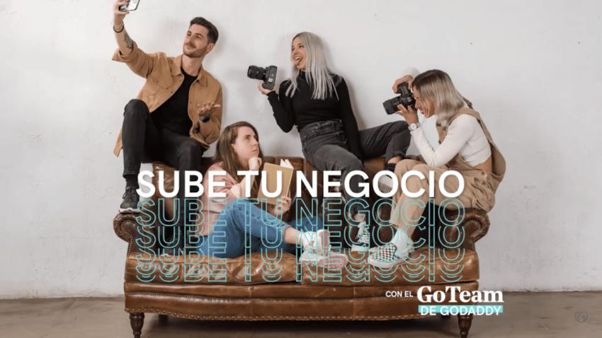 """GoDaddy confía a HMG su campaña """"Sube Tu Negocio"""", un proyecto para apoyar a emprendedores a digitalizar sus negocios"""