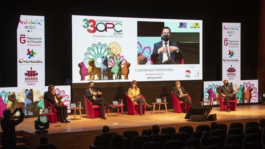 Granada reanuda el turismo de reuniones y eventos post COVID con el Congreso OPC España