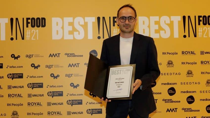 El proyecto 'SNACK'IN 100% Gamers', galardonado en los premios Best In Food 2021