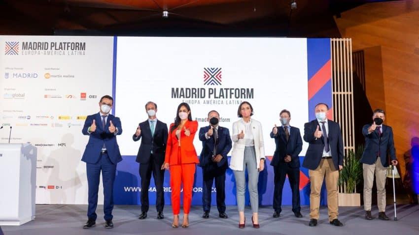 MKTG España, partner estratégico de Madrid Platform, primer encuentro empresarial internacional presencial celebrado en 2021 en Madrid
