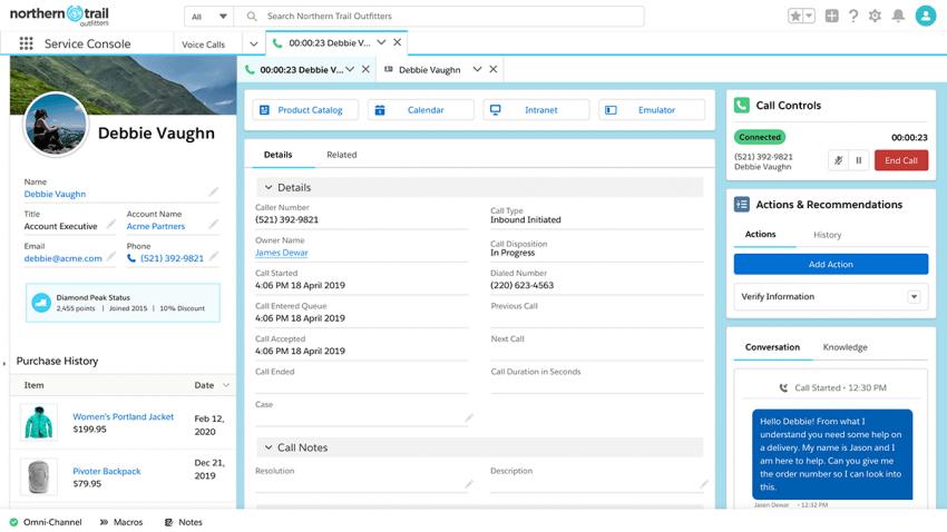 Salesforce reinventa Service Cloud para transformar el servicio al cliente desde cualquier lugar