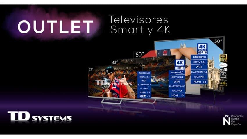 """TD Systems oferta televisores del """"outlet"""" por menos de 340 euros para disfrutar de la Eurocopa"""