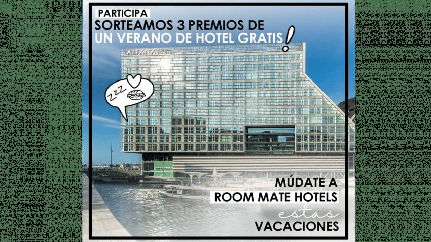 Room Mate Hotels sortea el mayor premio de la historia de la compañía