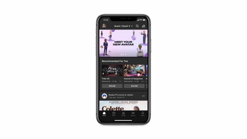 Oculus prueba los anuncios para su contenido con el fin de ayudar a los desarrolladores de RV