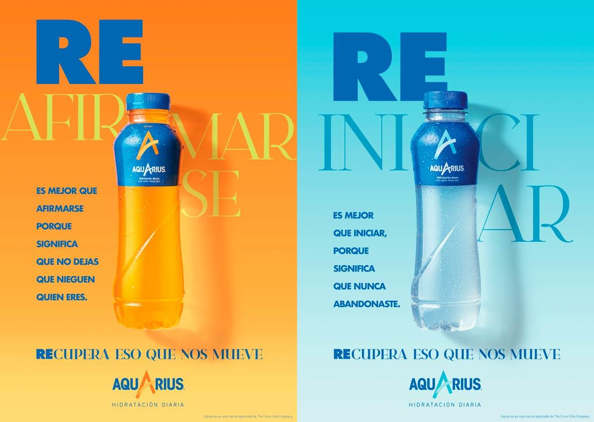 Nuevas botellas de Aquarius