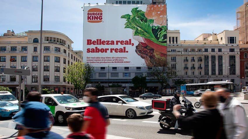 Burger King promueve la