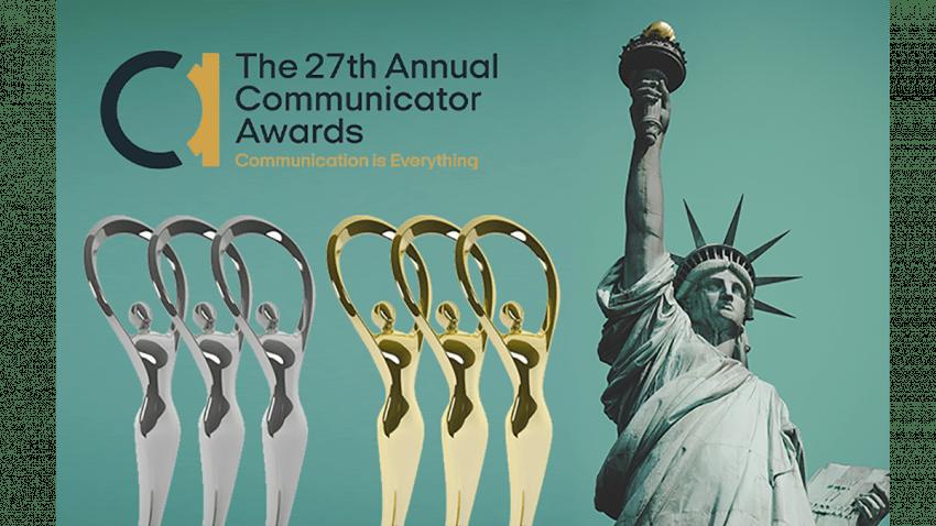 Parnaso recibe 3 oros y 3 platas en la 27 edición de los Communicator Awards