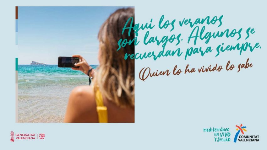 La Comunidad Valenciana da la bienvenida a los turistas con versos de Lope de Vega