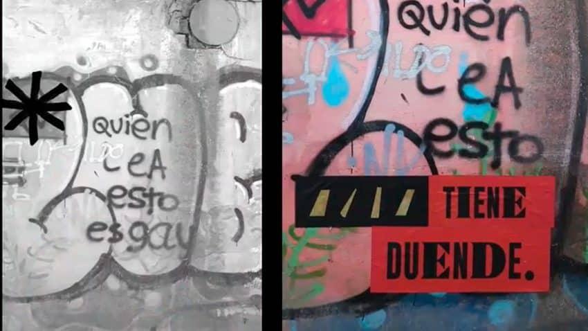 Cruzcampo cambia pintadas de odio por mensajes positivos en esta acción
