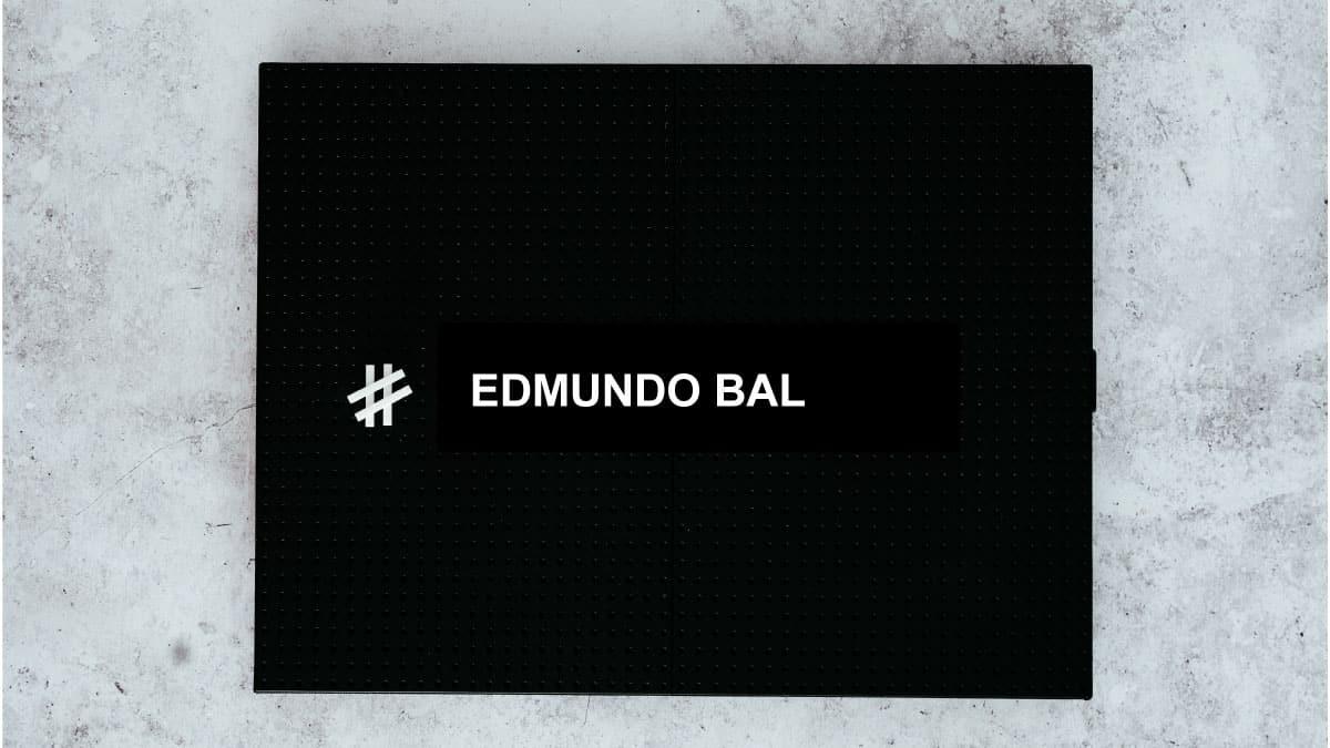 redes sociales de Edmundo Bal
