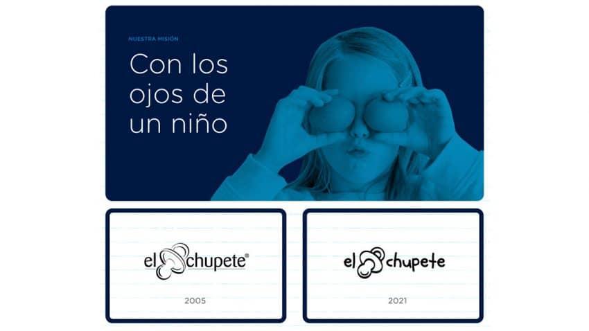 El Chupete renueva su identidad de marca y estrena página web