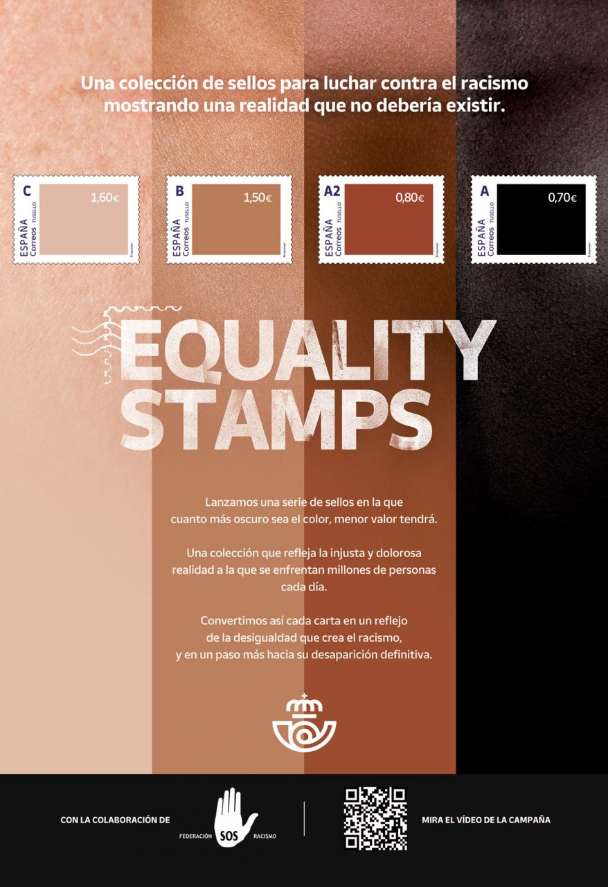 Equality Stamps Correos