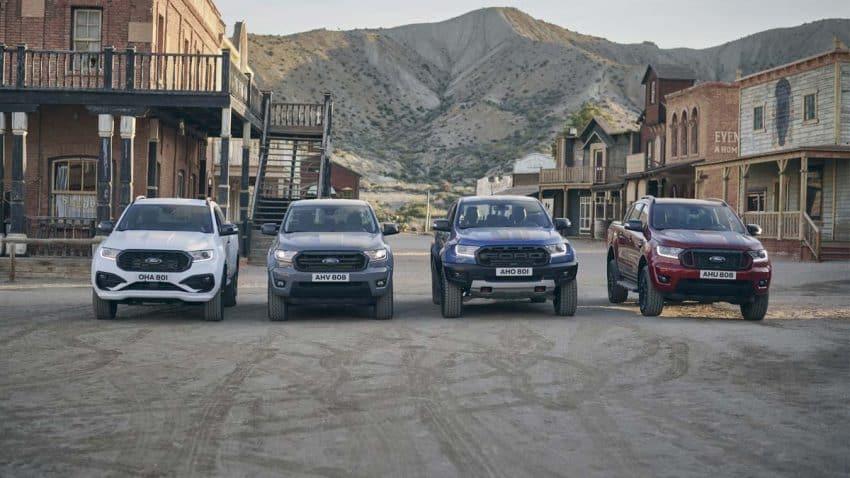 Ford recrea 'El bueno, el feo y el malo' con coches al estilo