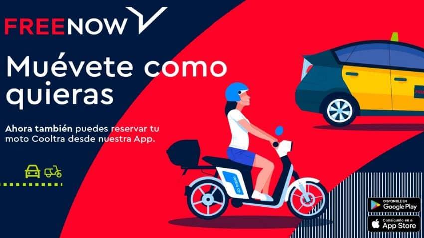 FREE NOW nos invita a movernos como queramos para impulsar sus nuevas motos