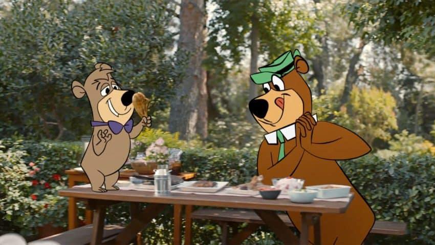 El oso Yogui y Bubú asaltan barbacoas ajenas en este nostálgico spot de Geico